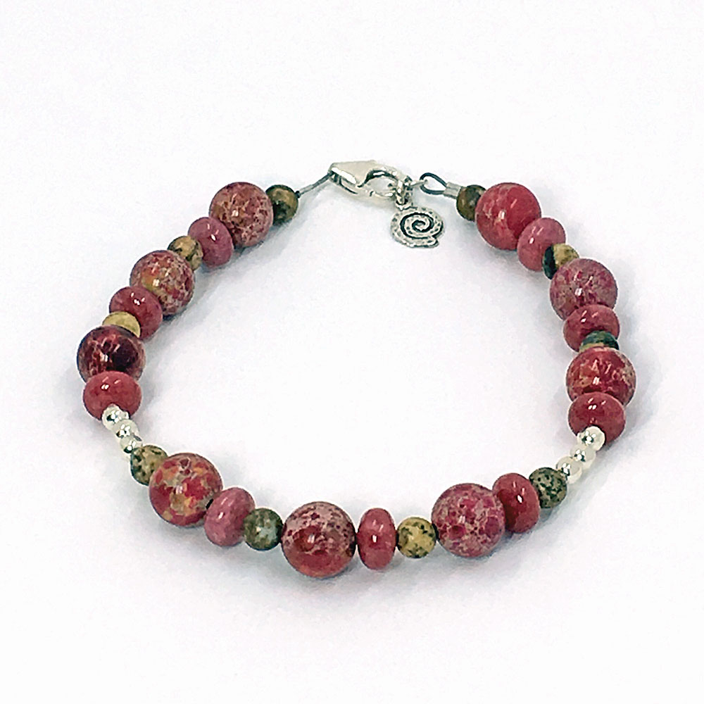 jasper ommo men dp red luxury london for beaded bracelet