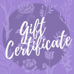 jewelry gift certificates