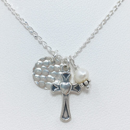 childrens cross necklace