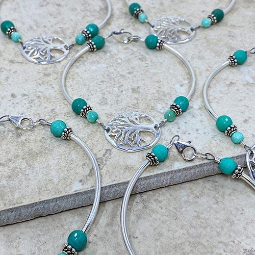 custom jewelry tree of life bracelet