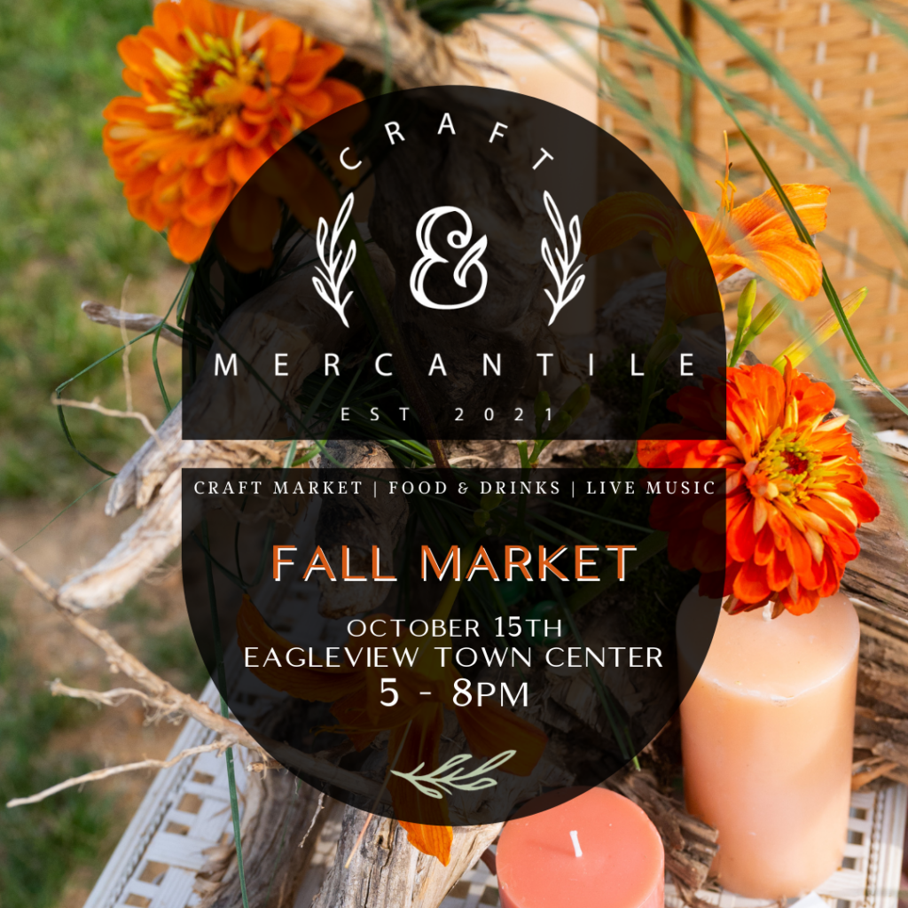 craft and mercantile fall market craft show